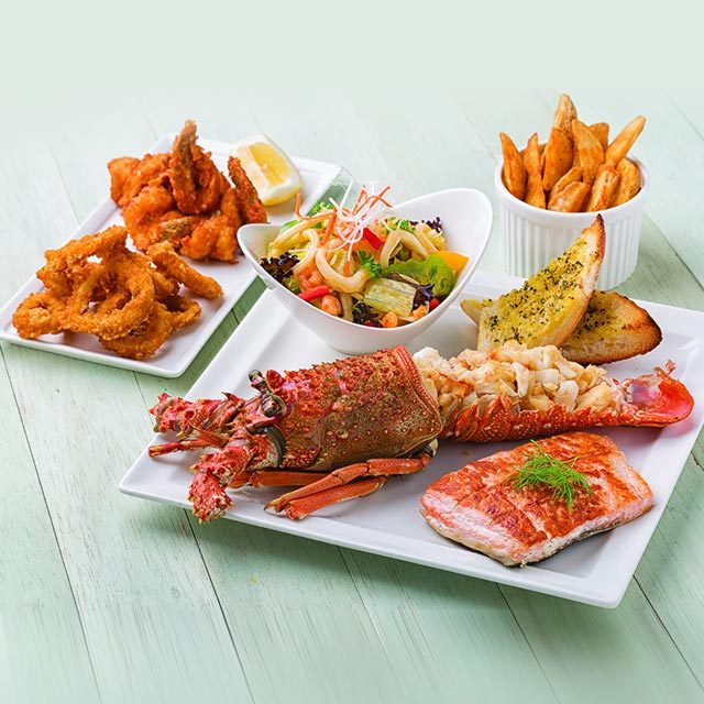 COLORS CAFE – SEAFOOD TOWER