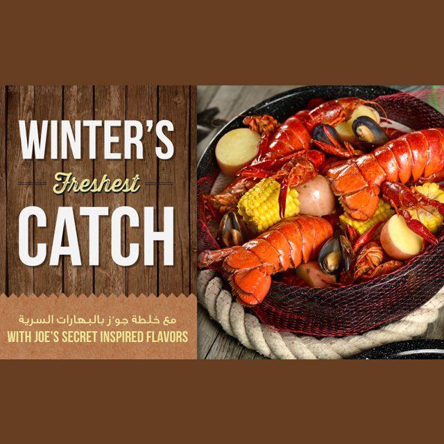 Joe's Crab Shack:Winter's Freshest Catch