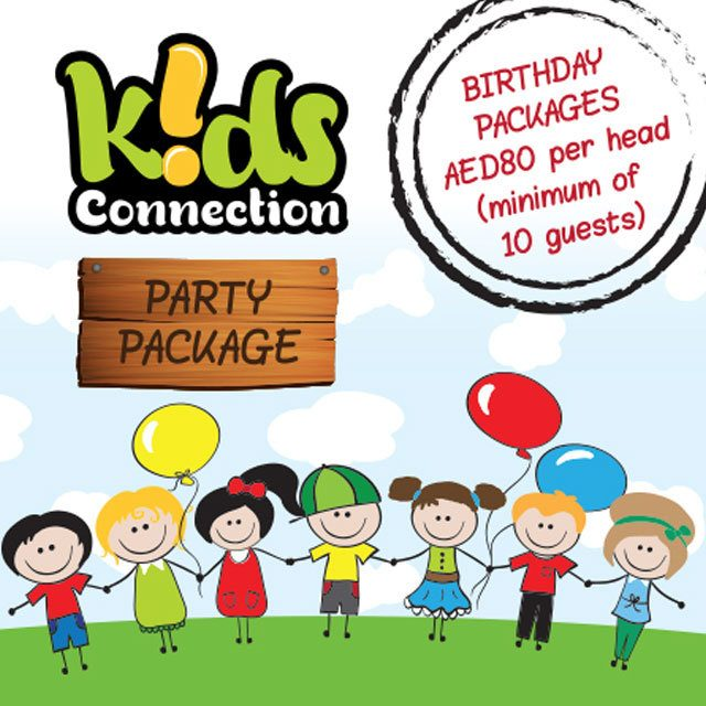 KIDS CONNECTION PARTY PACKAGE OFFER