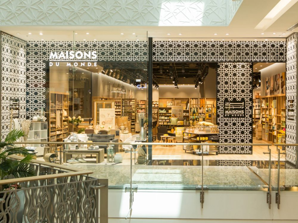 Maisons du monde dubai shopping guide for Scrivania maison du monde