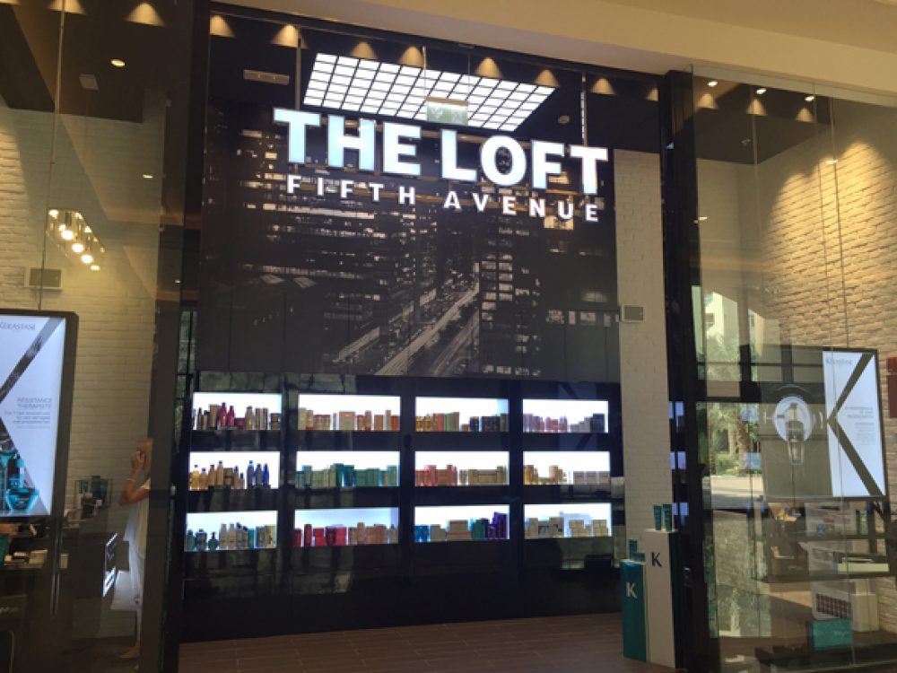 The loft fith avenue hair beauty salon dubai shopping for 5th avenue nail salon