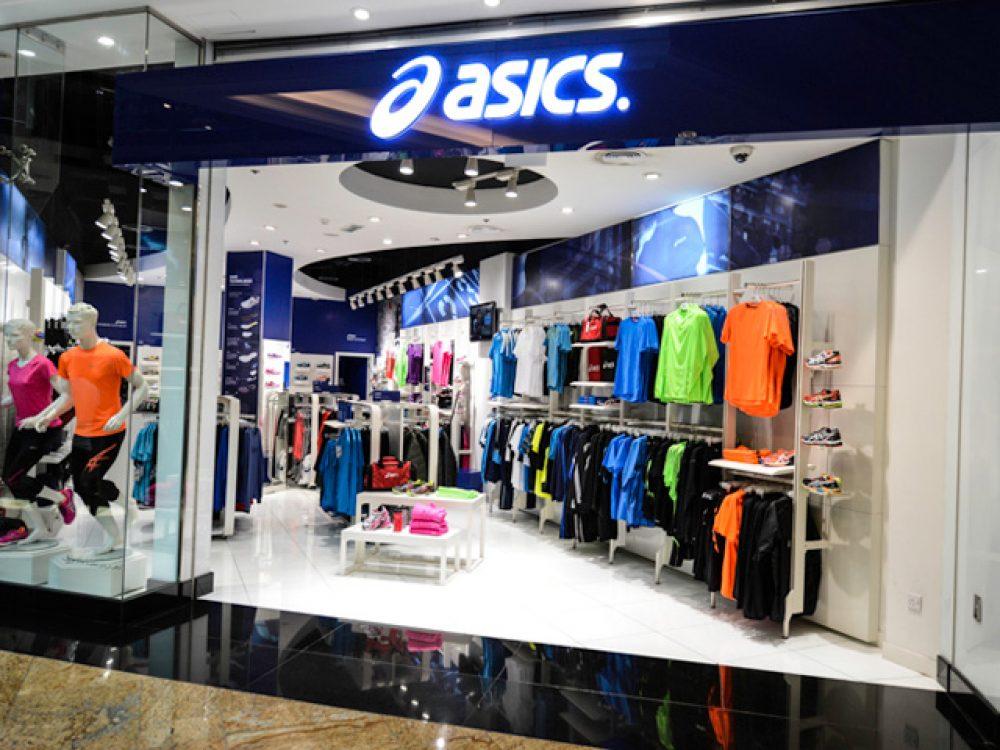 boutique mall asics