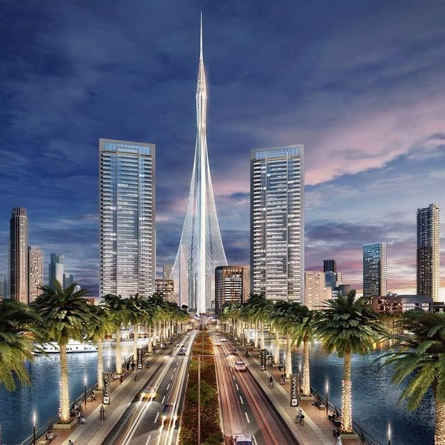 Enchanting Mega-Replica of Dubai Creek Tower