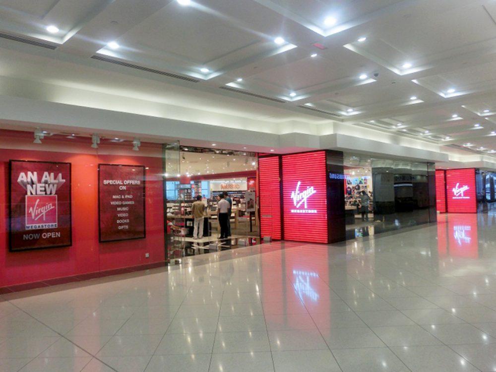 VIRGIN MEGASTORE   Dubai Shopping Guide