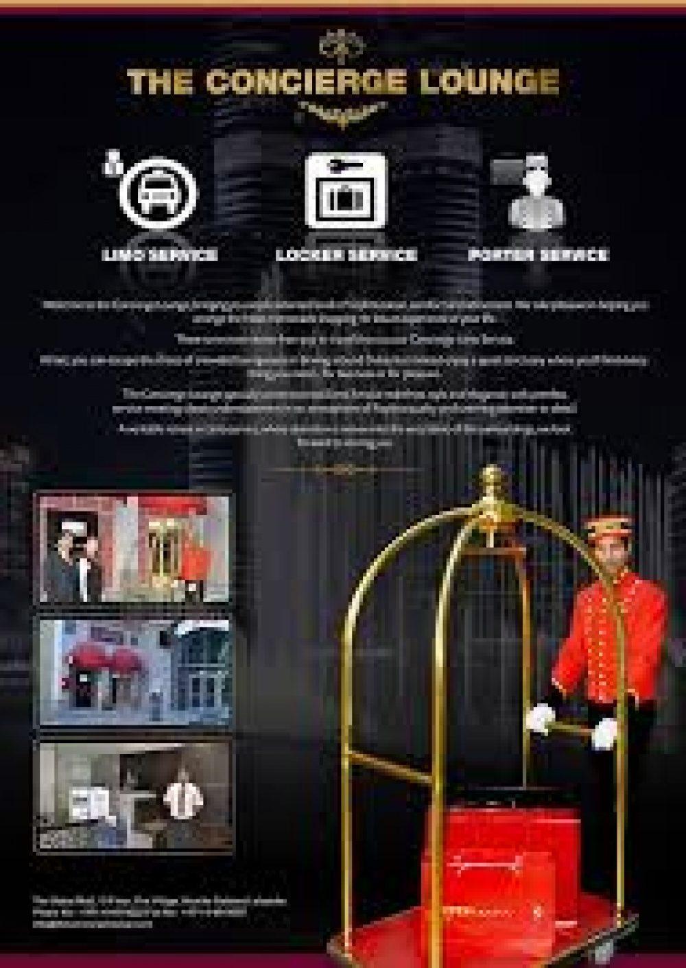 Concierge Lounge Dubai Shopping Guide