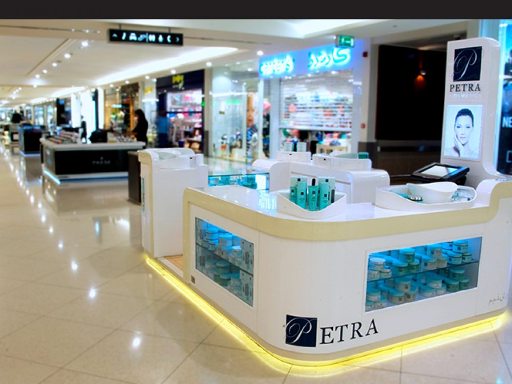 Petra Cosmetics Kiosk Dubai Shopping Guide